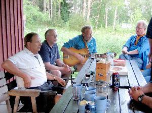 Amerika-Vargen PG Westerdals besök i fosterlandet