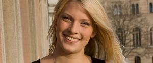 Evelina Ögren vann KTH:s Future female leader award